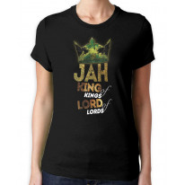 Jah King of Kings Rasta Reggae Women's T-Shirt
