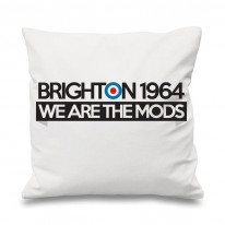 Brighton 1964 We Are The Mods Cushion