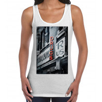 Drugs R Us Large Print Women's Tank Vest Top
