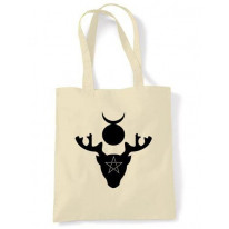 Horned God Symbol Shoulder Bag