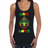 Jah Love Reggae Women's Tank Vest Top