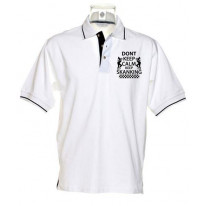 Don't Keep Calm Keep Skanking Men's Ska Polo T-Shirt