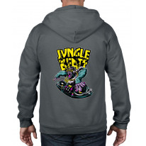 Jungle Beats Junglist DJ Full Zip Hoodie