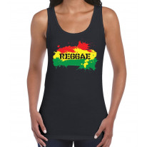 Reggae Splash Women's Tank Vest Top