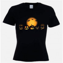 Halloween Pumpkins Fancy Dress Women's T-Shirt