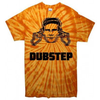 Dubstep Hearing Protection Tie Dye T-Shirt