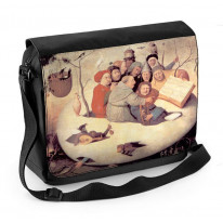 Hieronymus Bosch Concert in the Egg Laptop Messenger Bag