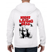 Night Of The Living Dead Zombie Full Zip Hoodie