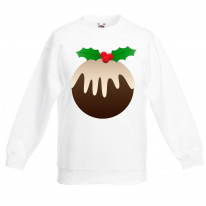 Christmas Pudding Kids Jumper \ Sweater