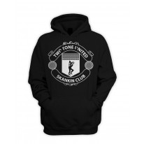 Two Tone United Skankin Club Pull Over Pouch Pocket Hoodie