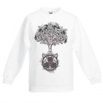 Celtic Spiral Tree of Life Children's Toddler Kids Sweatshirt Jumper
