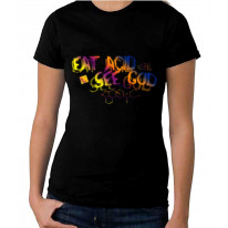 Eat Acid See God LSD Formula Women's T-Shirt