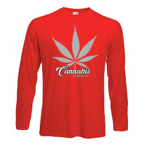 Cannabis For Medical Use Leaf Long Sleeve T-Shirt