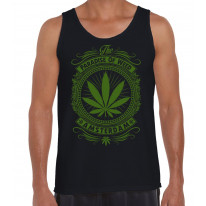 Amsterdam Paradise Of Weed Men's Tank Vest Top