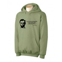 Abraham Lincoln Quote Hoodie