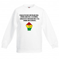 Emancipate Yourselves Reggae Children's Unisex Sweatshirt Jumper