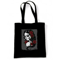 Day Of The Dead Girl Tattoo Shoulder Bag
