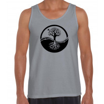 Yin and Yang Tree of Life Men's Tank Vest Top