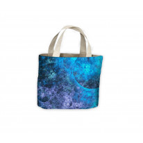 Fractal Loop Bubbles Tote Shopping Bag For Life