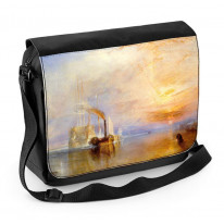 William Turner The Fighting Temeraire Laptop Messenger Bag
