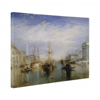 William Turner Grand Canal Venice Box Canvas Print Wall Art - Choice of Sizes