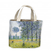 Claude Monet Sunlight Effect Under The Poplars Tote Shopping Bag For Life