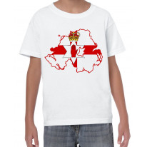 Northern Ireland Coat Of Arms Flag Kid's T-Shirt