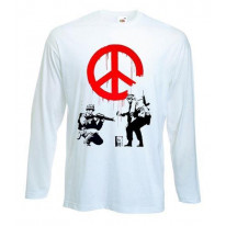 Banksy CND Soldiers Long Sleeve T-Shirt