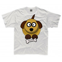 Cartoon Dog Puppy Children's Unisex T Shirt
