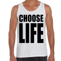 Choose Life Men's Tank Vest Top