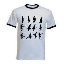 Monty Python Ministry Of Silly Walks Contrast Ringer T-Shirt