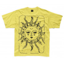Sun Design Large Print Kids Children's T-Shirt