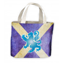 Scottish Saltire Flag Tote Shopping Bag For Life