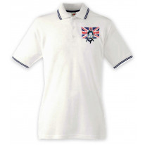 Union Jack Scooter Mod Polo Shirt