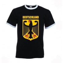 German Eagle Ringer T-Shirt