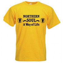 Northern Soul A Way Of Life Blackprint T-Shirt