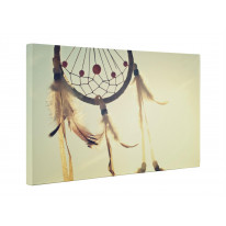 North American Indian Dream Catcher Box Canvas Print Wall Art - Choice of Sizes