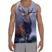 The Monarch of The Glen Sir Edwin Landseer Men's All Over Graphic Vest Tank Top