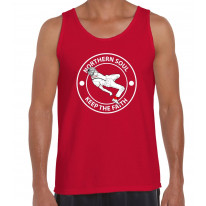 Northern Soul Keep The Faith Dancer Logo Men's Vest Tank Top