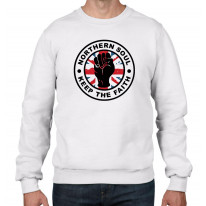 Keep The Faith Union Jack Men's Sweatshirt Jumper