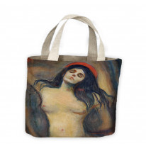 Edvard Munch Madonna Tote Shopping Bag For Life