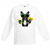 French Bulldog Brazillian Style Children's Unisex Sweatshirt Jumper