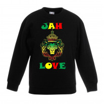 Jah Love Reggae Children's Unisex Sweatshirt Jumper