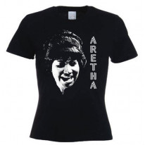 Aretha Franklin Ladies T-Shirt