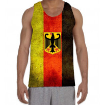 German Flag Men's All Over Graphic Vest Tank Top