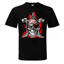 Jolly Roger Pirate Fancy Dress T-Shirt