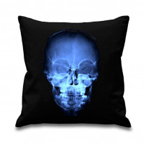 X-Ray Skull Printed Scatter Cushion
