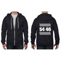 54 46 Was My Number Ska Full Zip Hoodie