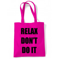 Relax Don't Do It 1980s Party Shoulder Bag
