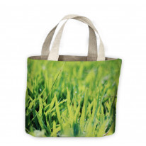 Blades of Grass with Dew Tote Shopping Bag For Life